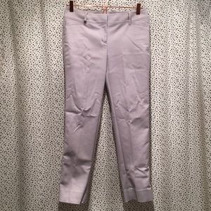 WHBM 2 perfect form slim ankle pants trousers